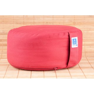 Zen cushion, red
