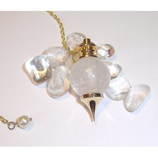 Clear Quartz Ball Pendulum